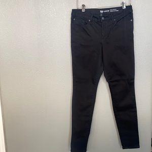 GAP Black Legging Jeans High Stretch Size 12